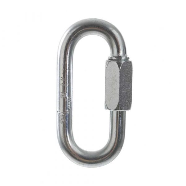 Oval Steel Screwlink