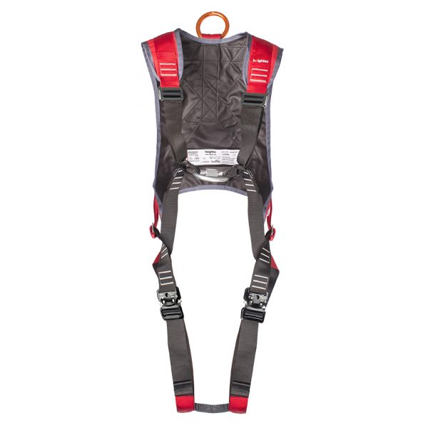 PHOENIX - Professional Rescue Harness, Quick Connect Red
