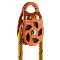P02 Aluminium Pulley 5cm on rope