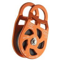 Aluminium rescue pulley