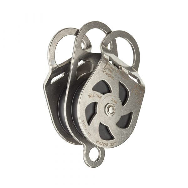 P05 Twin Stainless Steel Pulley 5cm