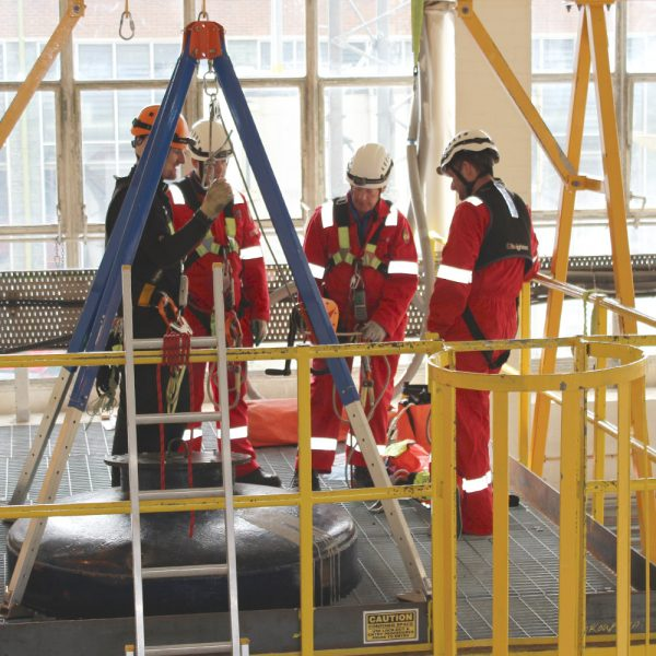 Confined Space Entry - Escape BA training