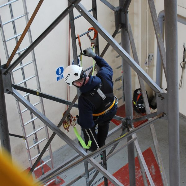 Industrial Climbing and Rigging Training